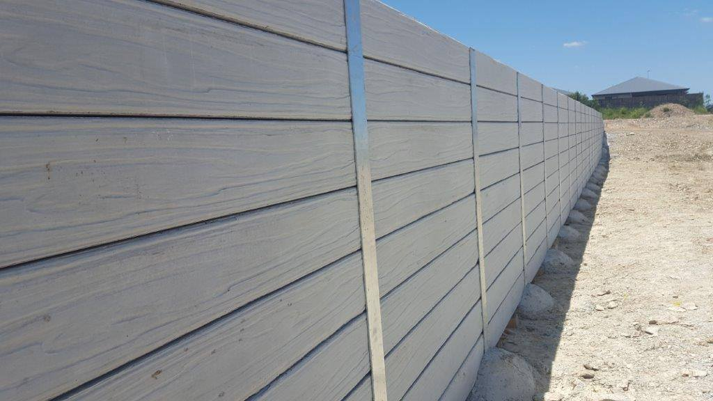 Durawall retaining wall driftwood grey design