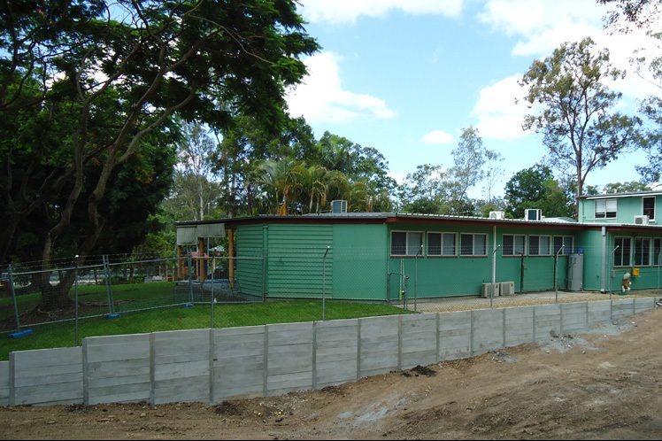 Durawall retaining wall in Fig Tree Pocket