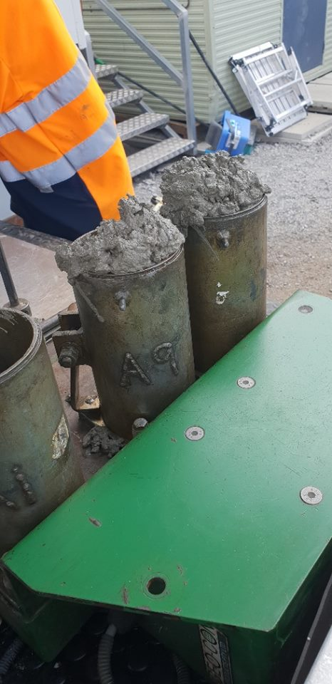 Durawall concrete sleepers quality assurance testing
