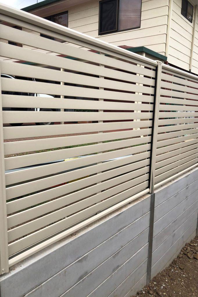 Durawall retaining wall replacement in Bundamba after photo