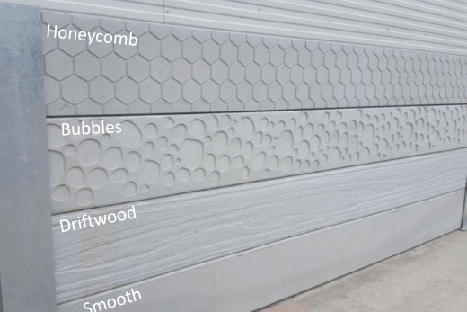Durawall concrete sleeper new designs
