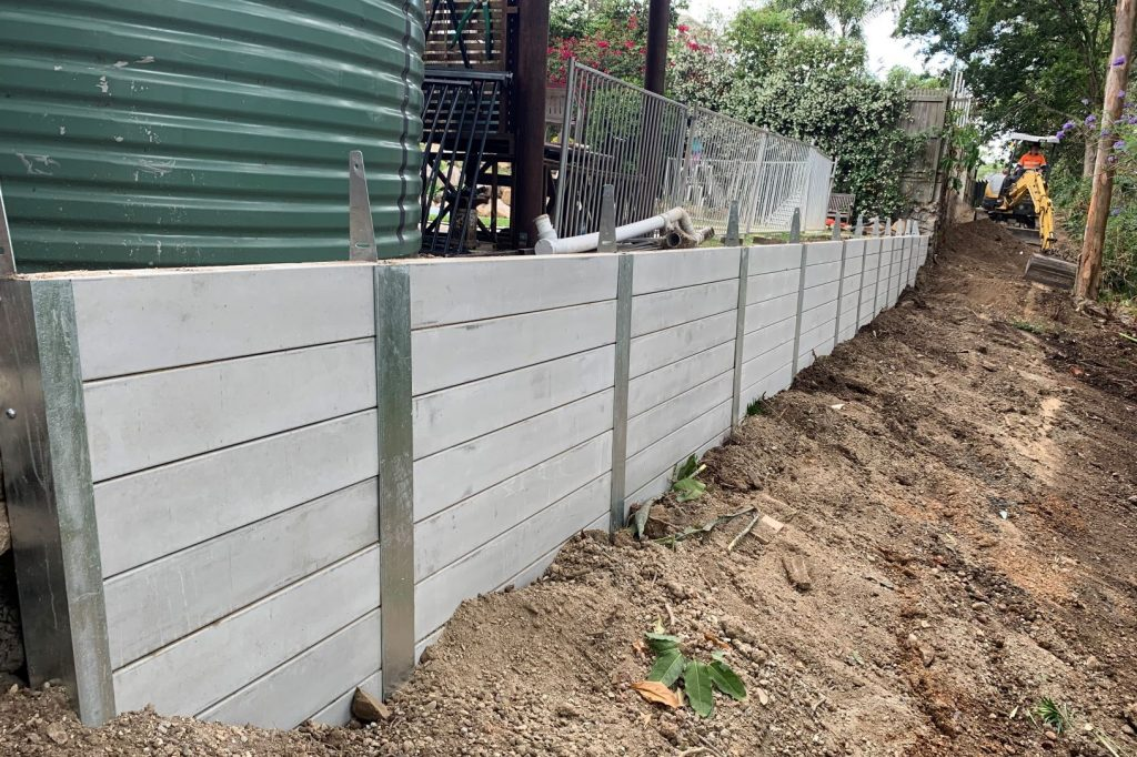 Durawall retaining wall replaced in Bardon featured image
