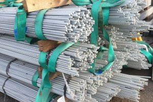 Gal reo bars for concrete sleepers