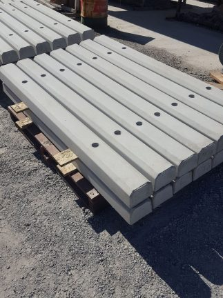 Durawall concrete wheelstops on a pallet